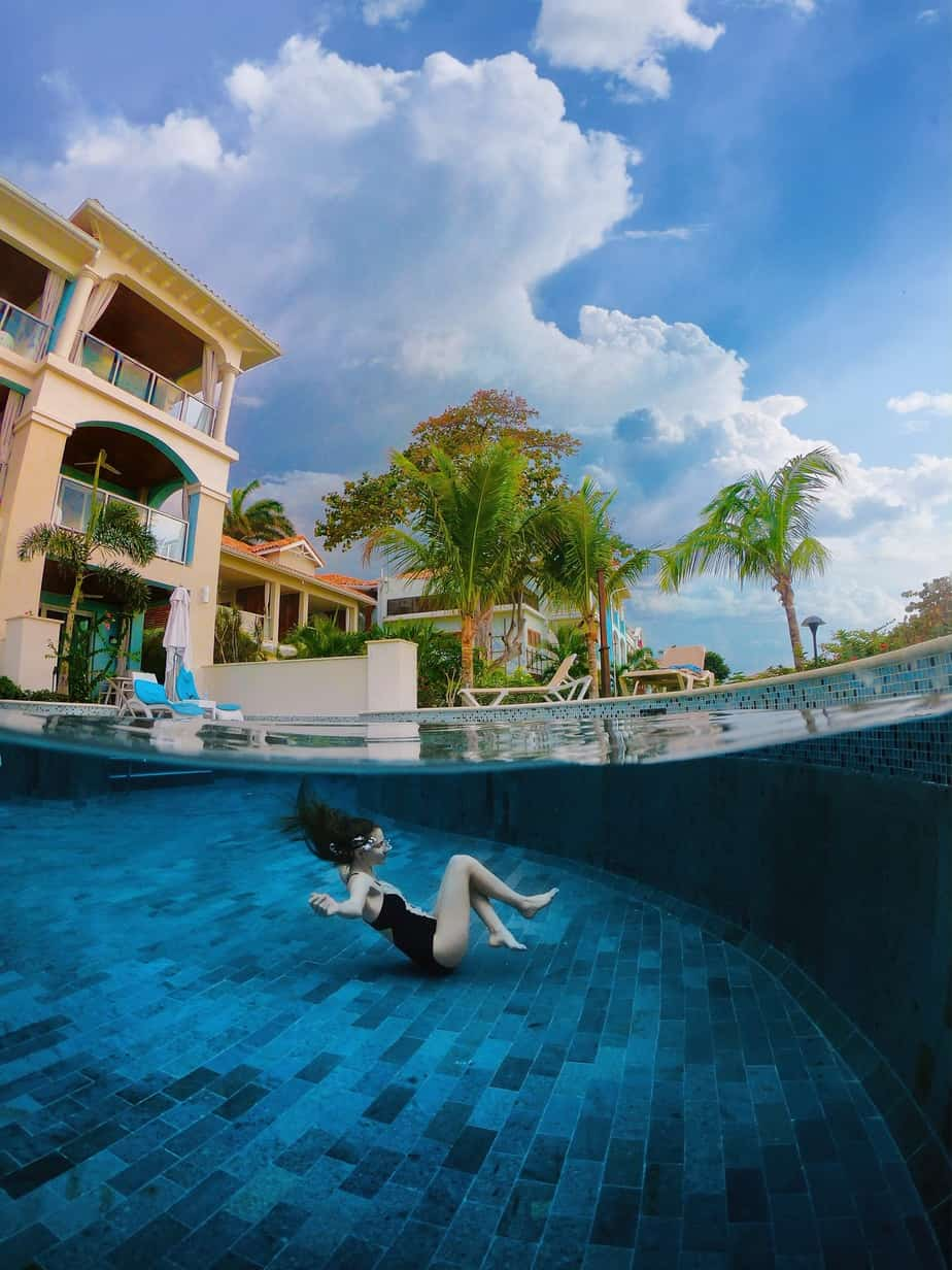Photo of Victoria at Sandals Resort, Done With an Underwater Case