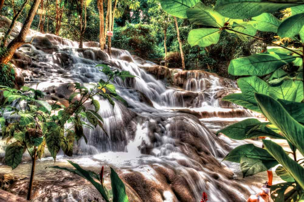 Photo of the Dunn's River Falls, a Fun Experience for Your Jamaica Honeymoon