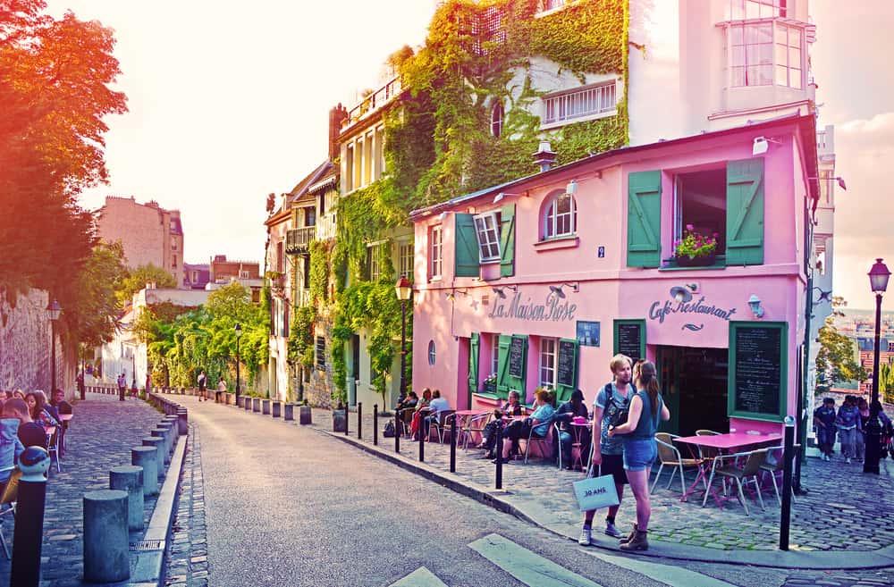 Street view of La Maison Rose