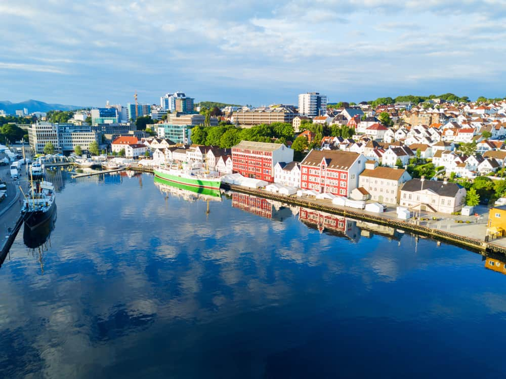 Photo of Norwegian City of Stavanger