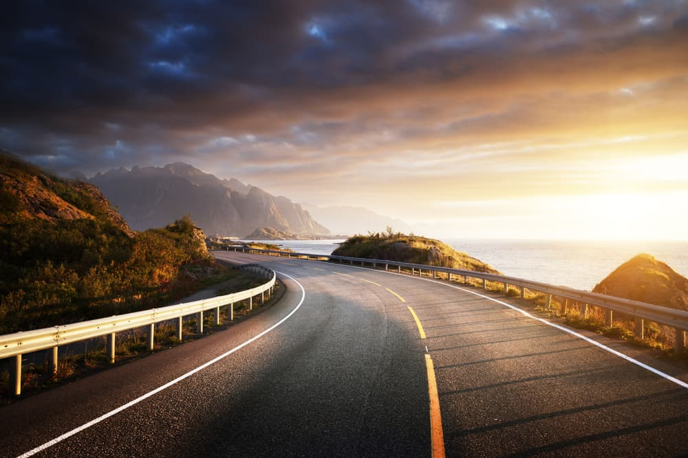 Photo of Norway Road Trip at Sunset