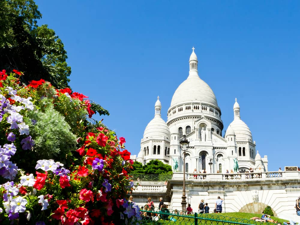 Sacre-Coeur is the second highest point in Paris