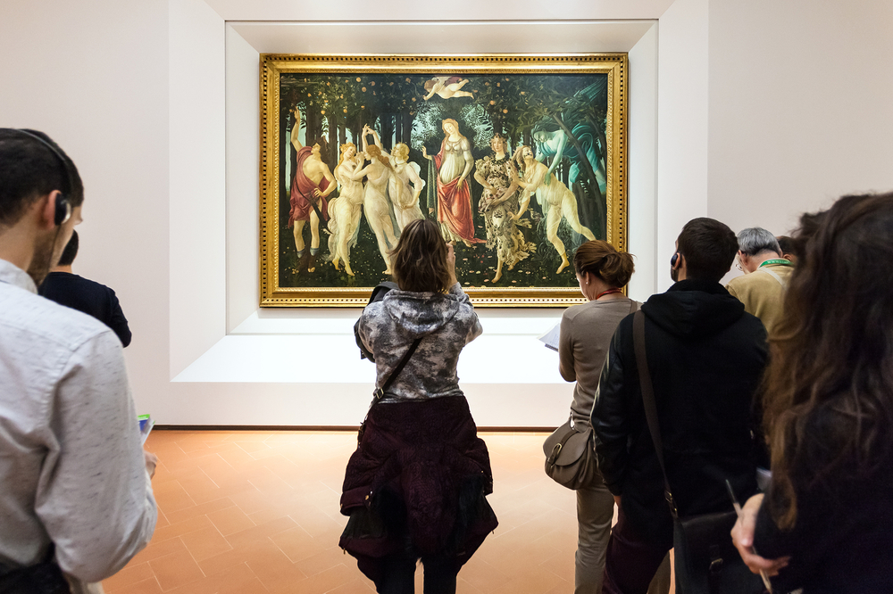 You must check out the art scene in Florence !