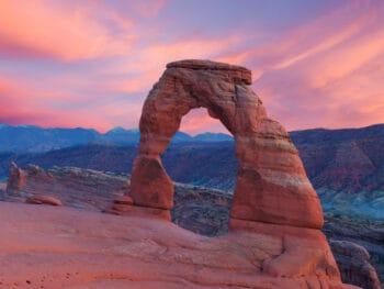 Delicate Arch is the most iconic of the Arches National Park hikes
