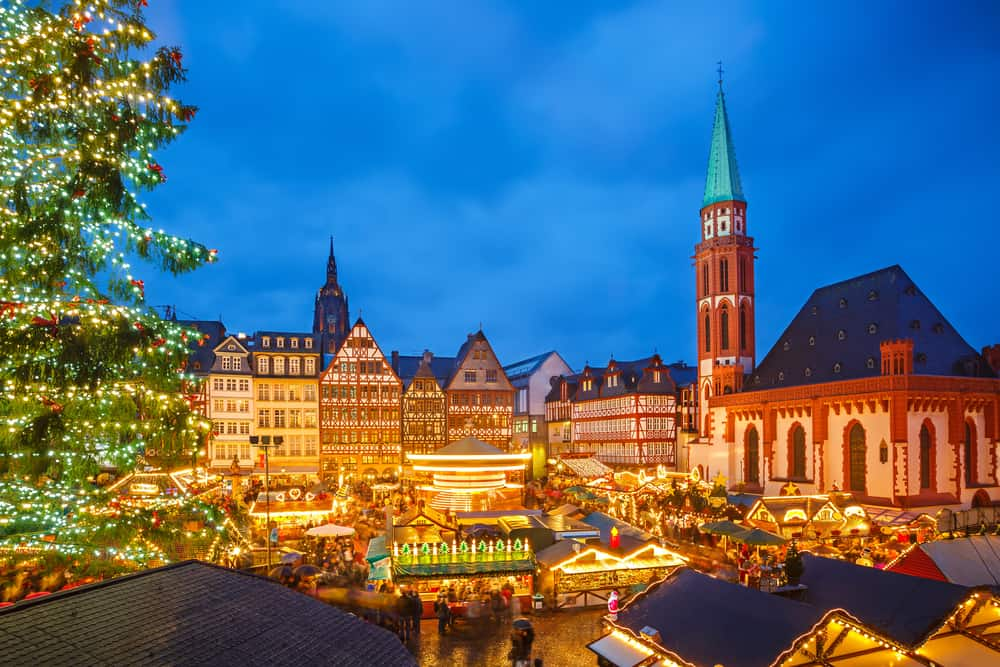 Christmas markets in Europe are filled with sparkling lights