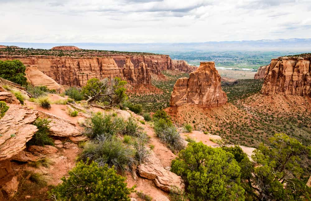 see the red rock at Colorado National Monument on your Colorado road trip