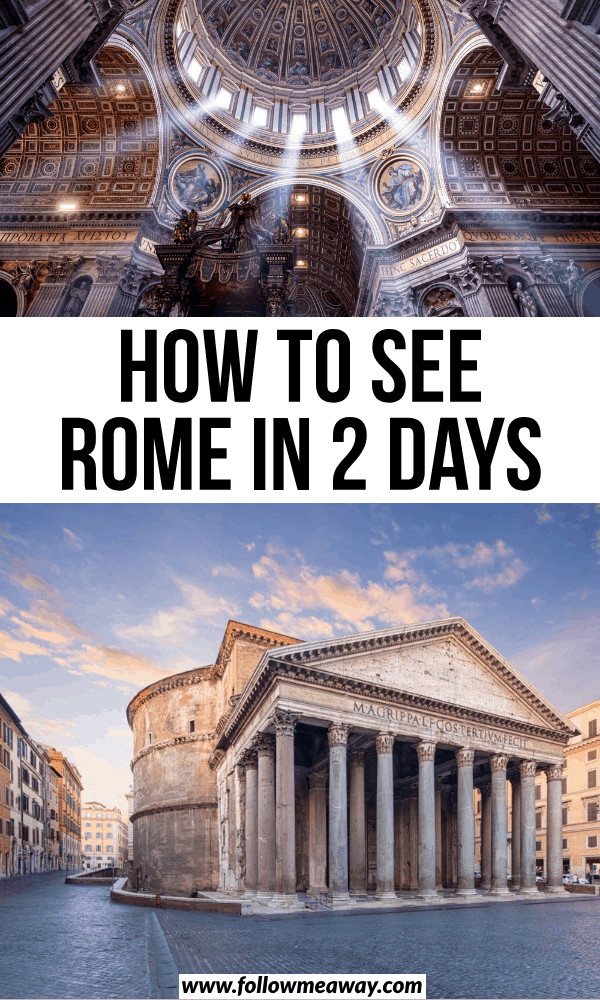 how to see rome in 2 days
