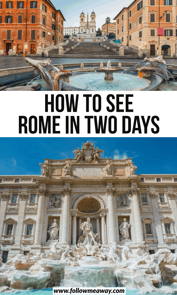 how to see rome in two days