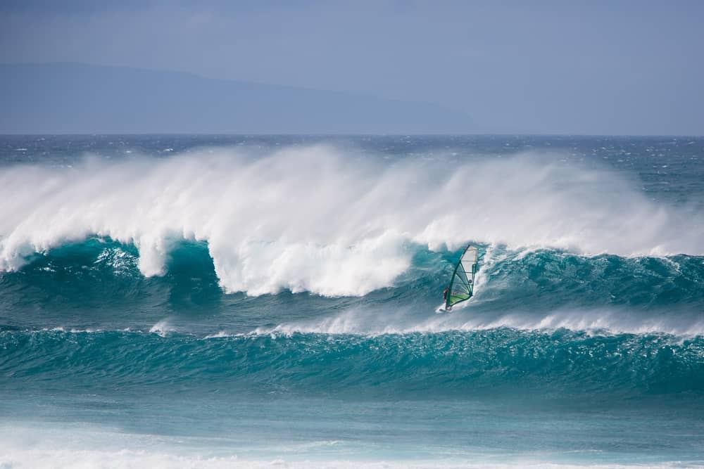 Near Hookipa Beach is where to stay in Maui for windsurfing