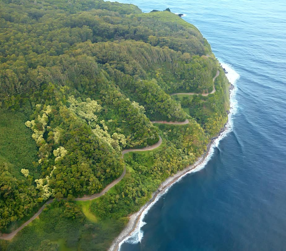 Near the Road to Hana is where to stay in Maui for natural wonders