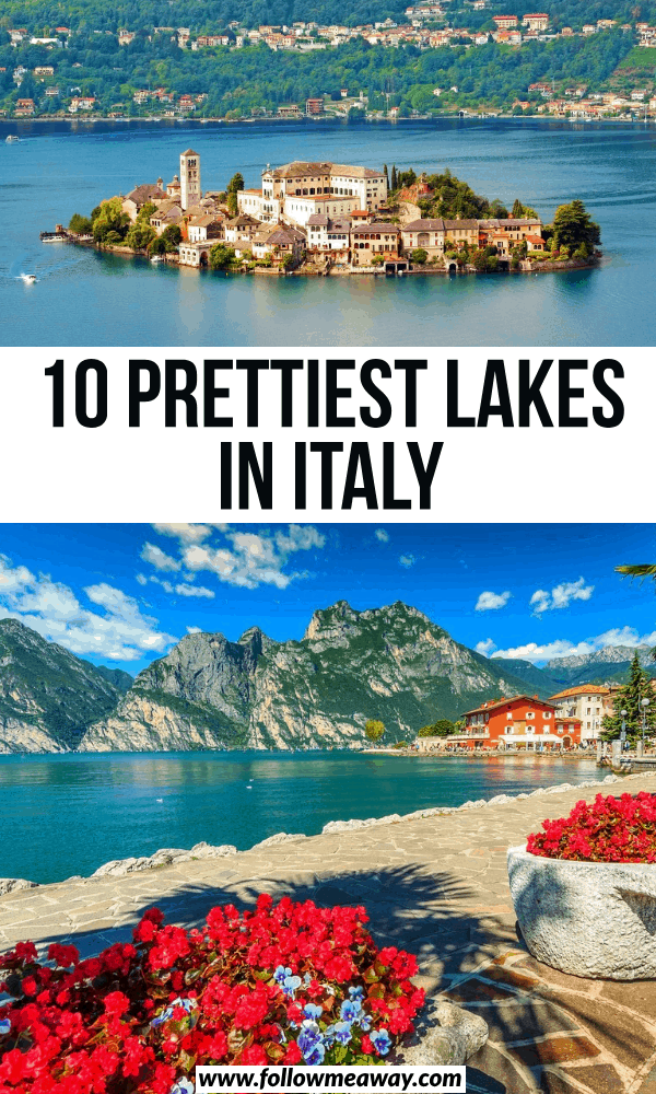 10 prettiest lakes in italy