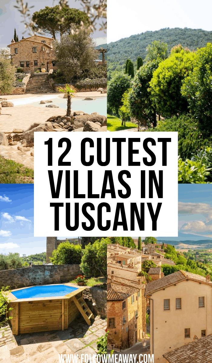 12 cutest villas in tuscany