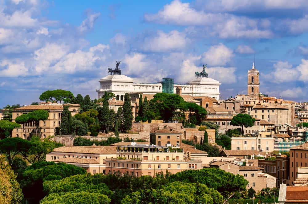 Aerial Rome in 4 days