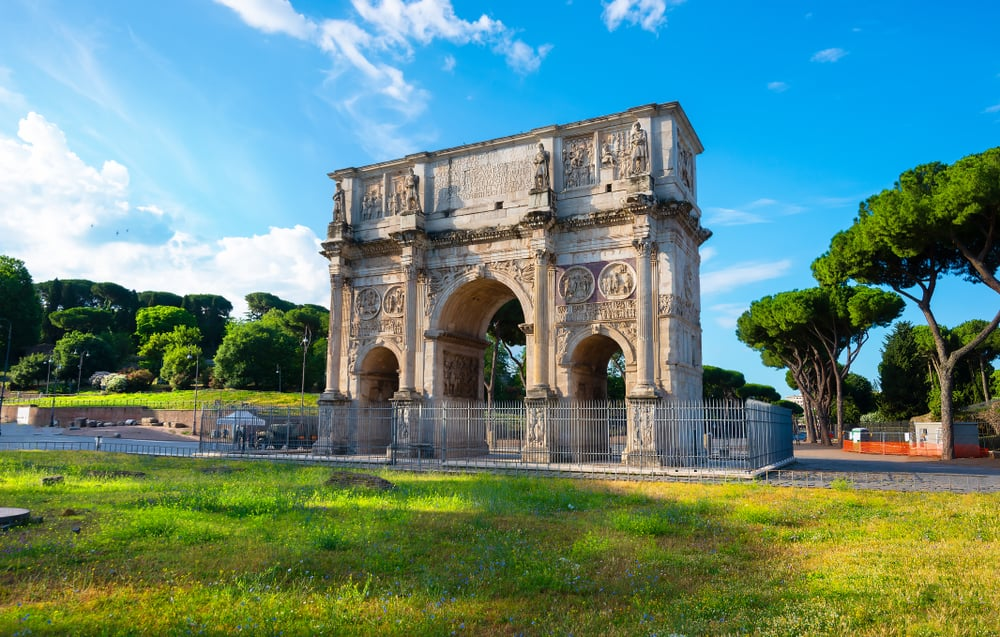 Arch of Constantine 4 days in Rome