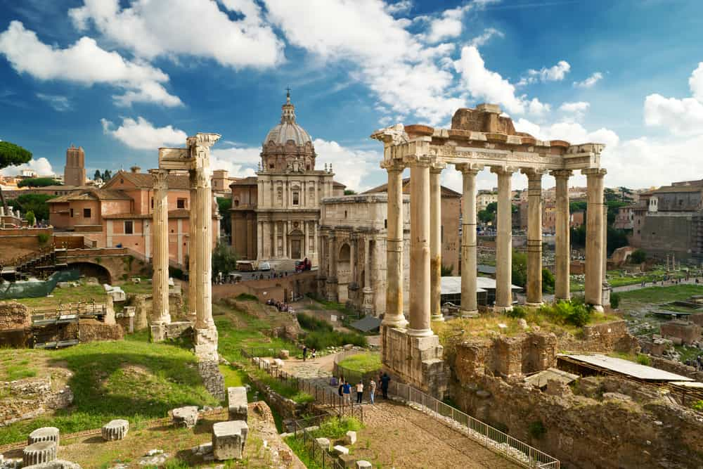 Roman Forum 4 days in Rome