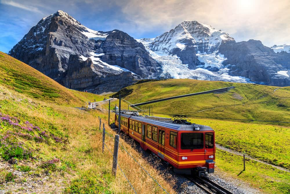 Photo of Jungfraujoch Railway, a fun excursion for your Switzerland road trip.