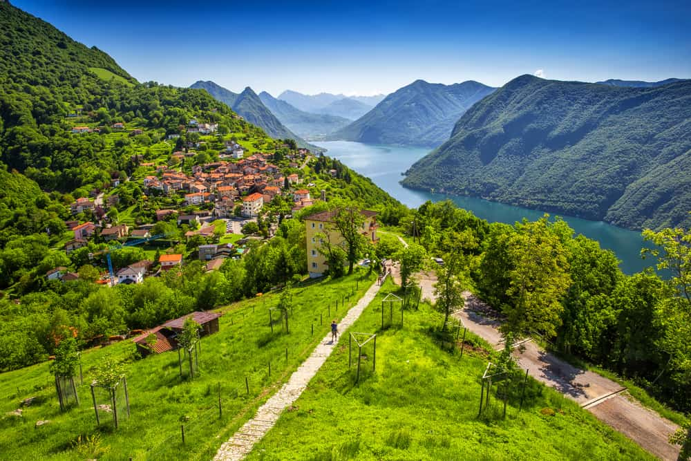 Photo of Lugano, a slightly more Italian stop on our Switzerland Road Trip