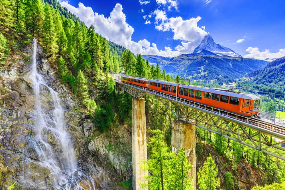 Photo of Train in Switzerland