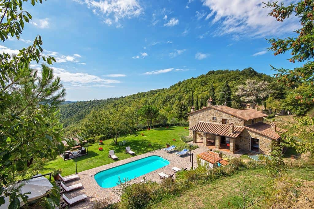 Villa Localita Gello di Antria has one of the prettiest views