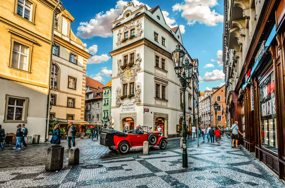 european capitals prague street view