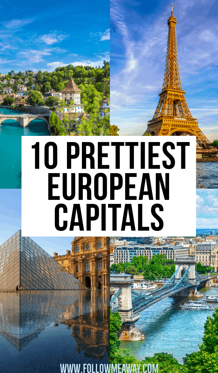 10 prettiest european capitals