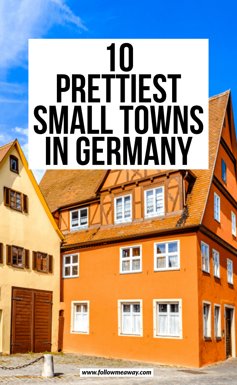 10 prettiest small towns in germany