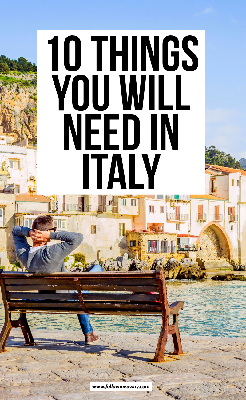 10 Things You Will Need In Italy | travelers guide to italy | traveling italy like a pro | don't forget these items when traveling to Italy | packing list for italy | Italy travel guide | cutest places to see in Italy | don't miss out on your Italy vacation | travel tips for Italy | where to go in Italy | what to bring to Italy | Italy packing list | traveling to Italy with ease | what you need to know when going to Italy | planning your Italy trip #Italy #italian #packinglist