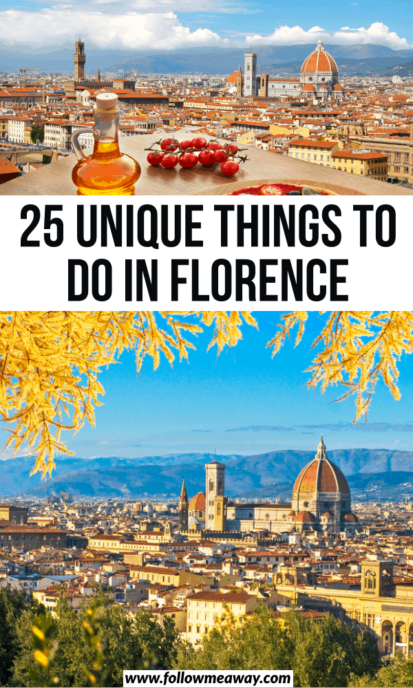 25 unique things to do in florence