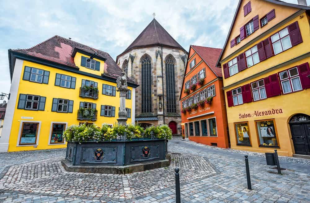 Explore Dinkelsbuhl's old town