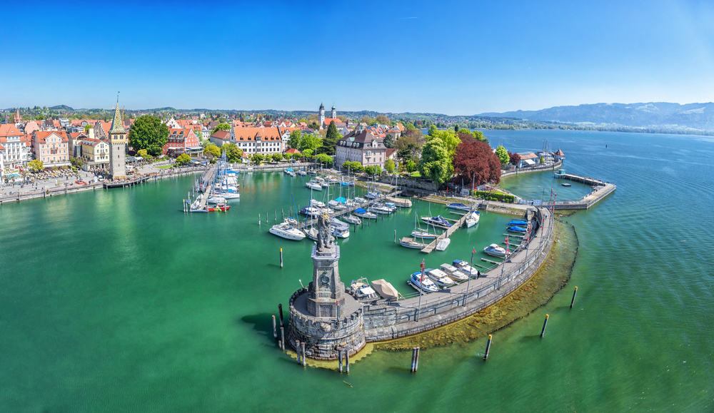See Lindau's port while exploring this beautiful town