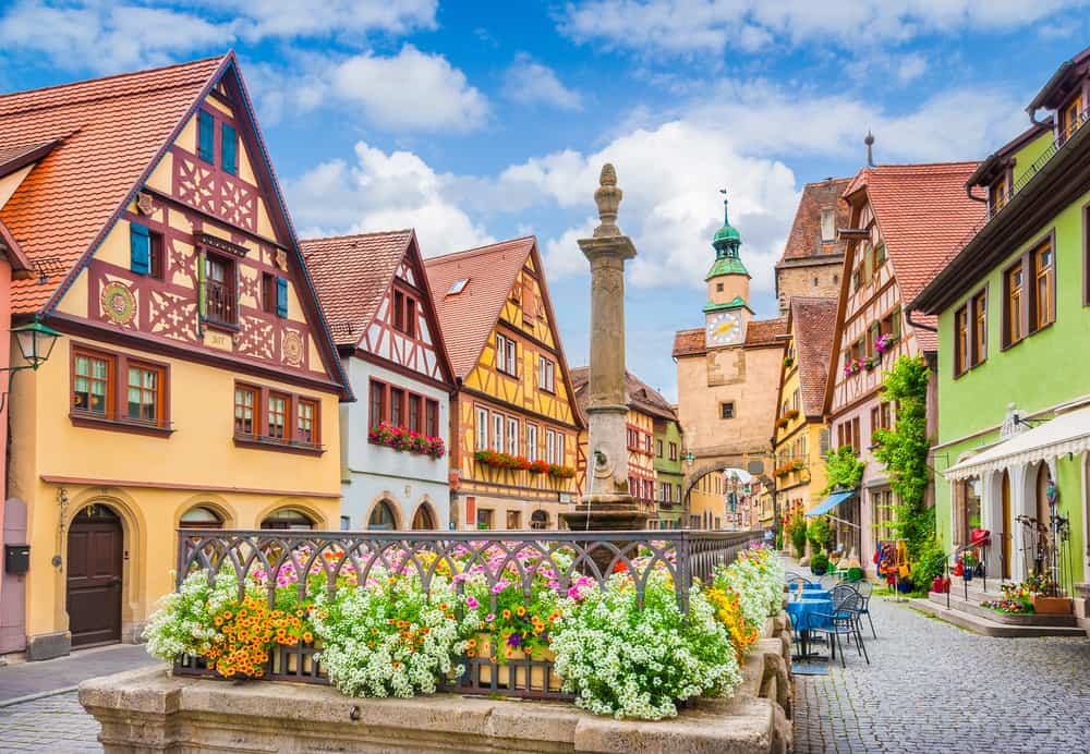 Rothenburg is one of the most charming small towns in Germany