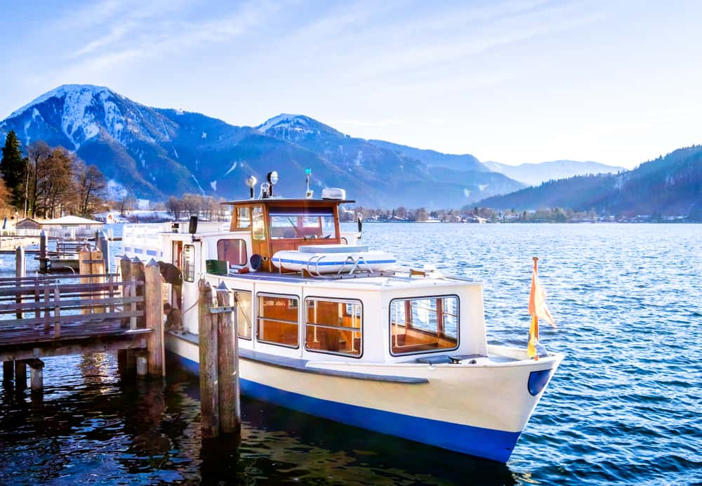 Take a boat ride on Lake Tegernsee