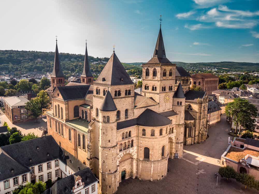 Some small towns in Germany, like Trier, have stunning castles