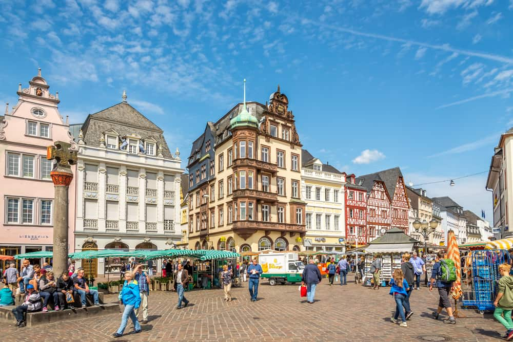 Gaze upon Trier's historic Old Town