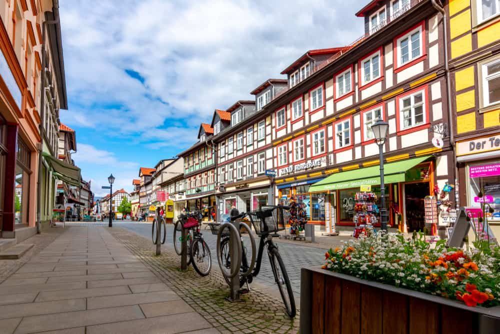 Stroll through the streets of small German towns