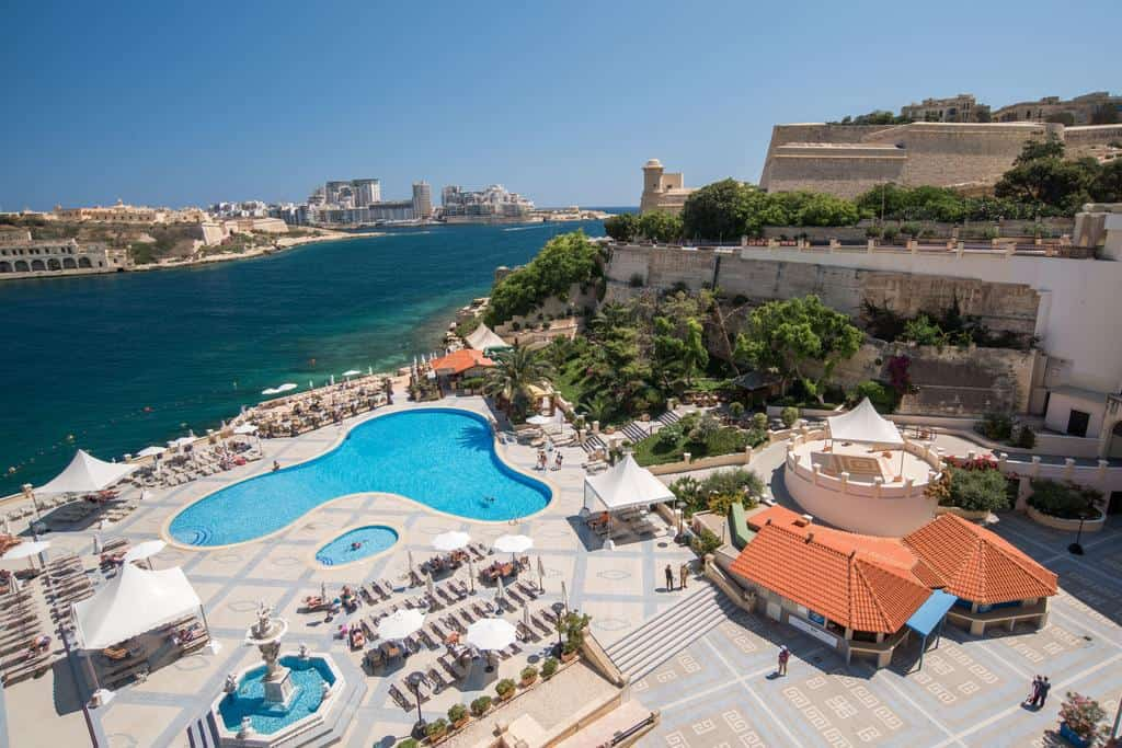 Grand Hotel Excelsior in Valetta is Where to Stay In Malta in the Capital