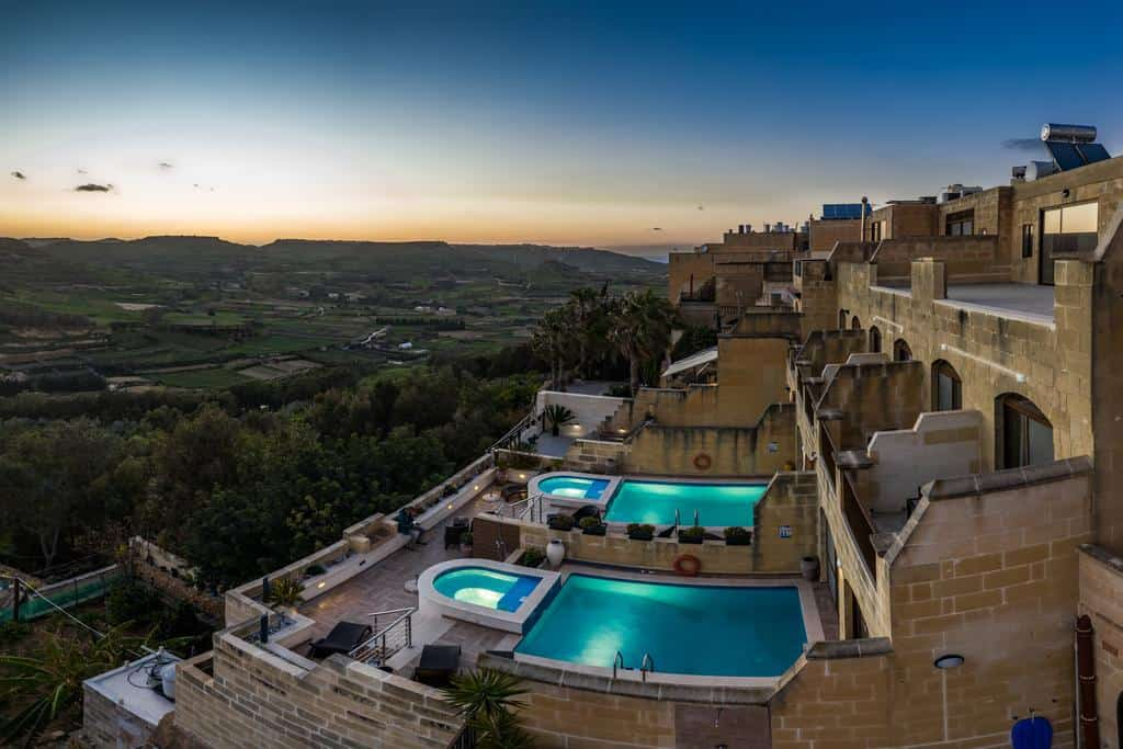 Where to Stay in Malta on Gozo is DGolden Valley Boutique and Breakfast
