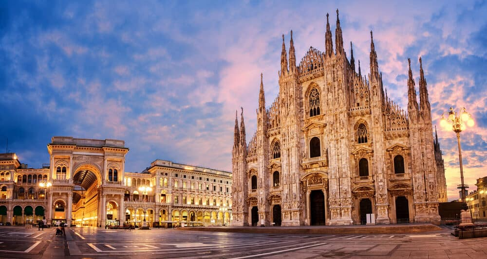 The Milan Cathedral. A must-see when planning your where to stay in Milan itinerary