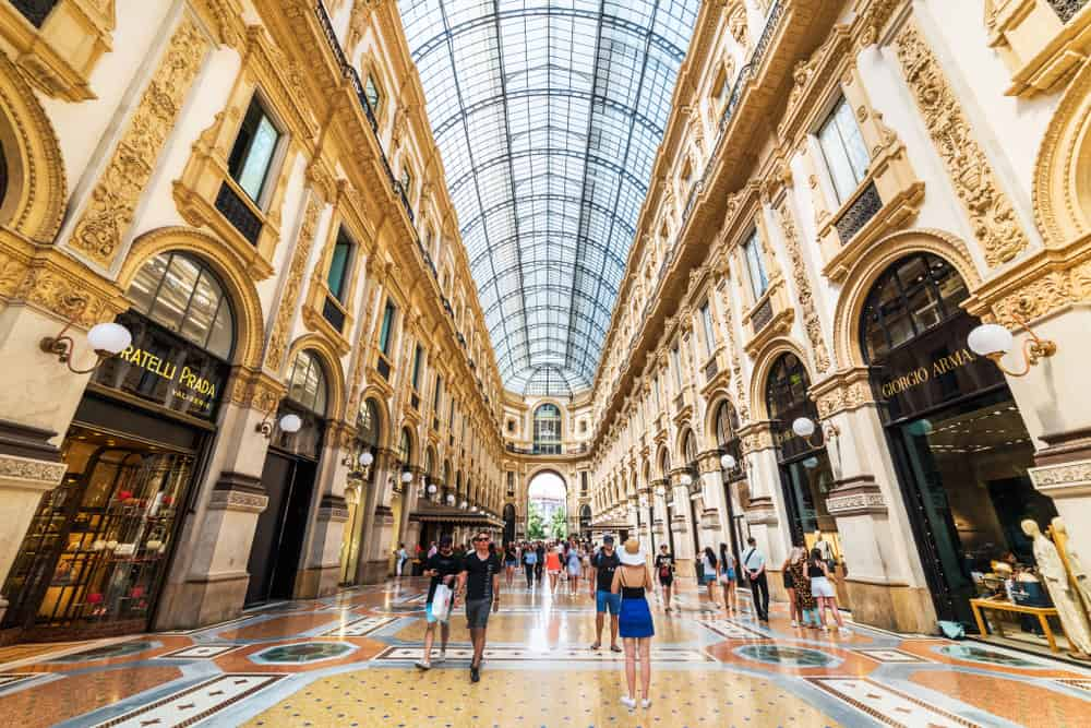 Galleria Vittorio Emanuele II is an amazing place to see. You can visit there no matter where you stay in Milan