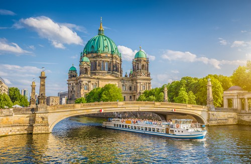 the Berlin Cathedral on your Germany road trip