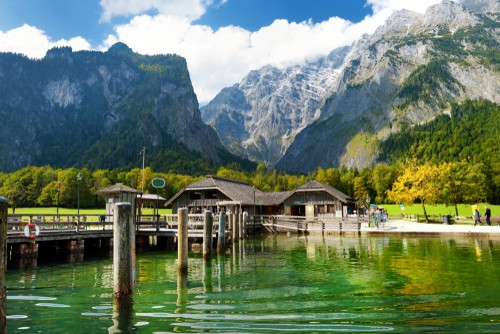 Lake Konigssee on your Germany road trip