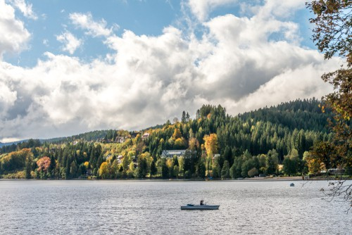 Lake Titisee in the Black Forest on your Germany road trip
