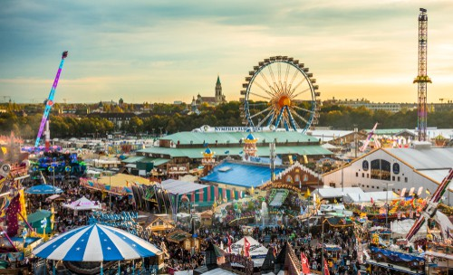 Oktoberfest celebrations in Munich on your Germany road trip