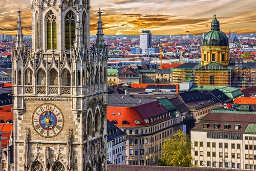 Munich's Town Hall and Marienplatz on your Germany road trip