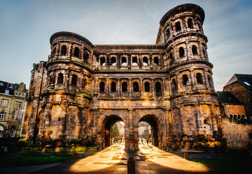the Porta Nigra in Trier on your Germany road trip