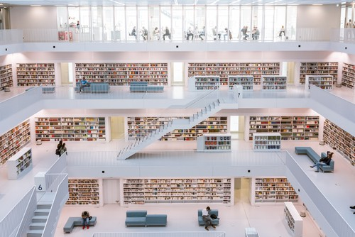 the Stuttgart Public Library on your Germany road trip