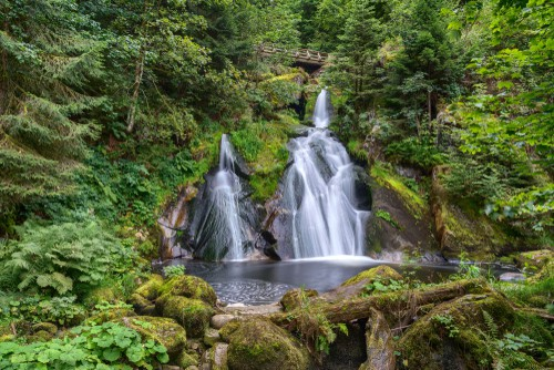 the Black Forest's Triberg Waterfalls on your Germany road trip
