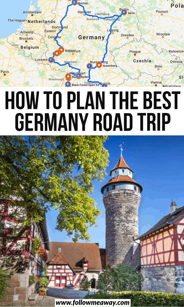 how to plan the best germany road trip