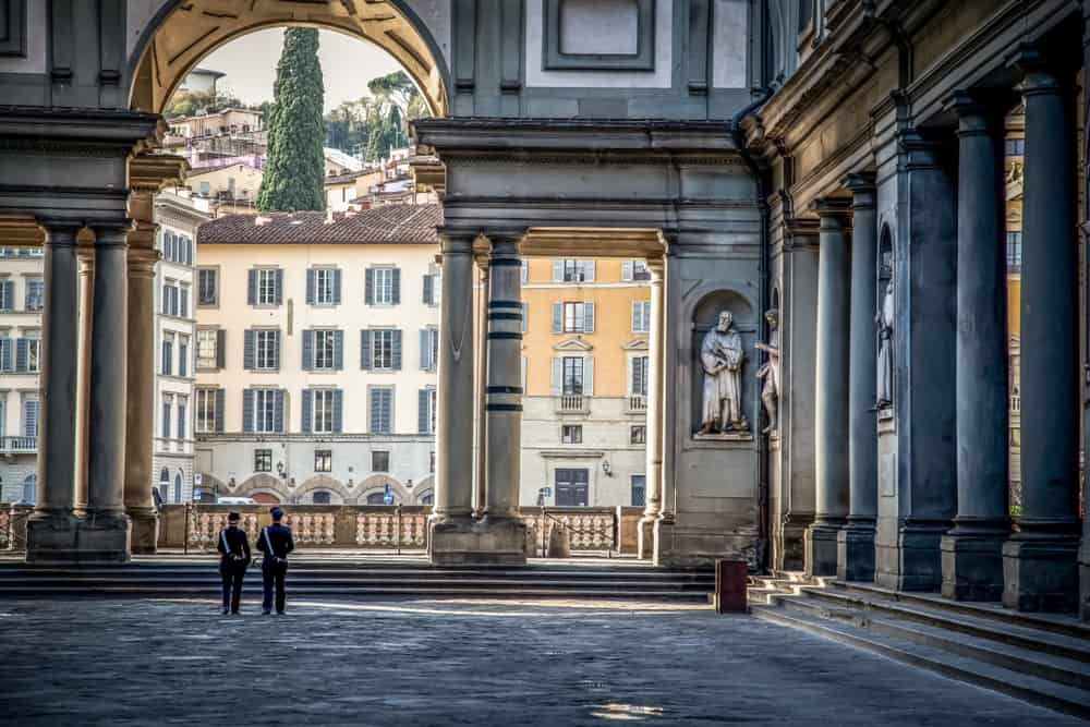 Photo of Uffizi Gallery, a great thing to experience during your Tuscany honeymoon.