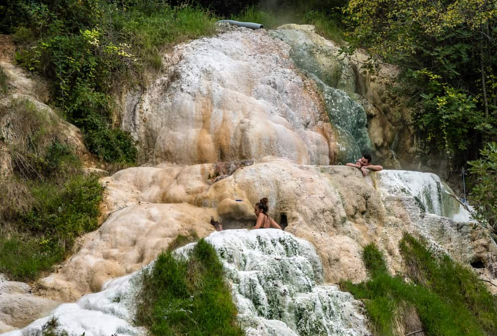Photo of hot springs at Bagni San Filippo